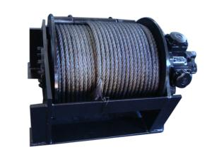 6.8 tons of hydraulic winch