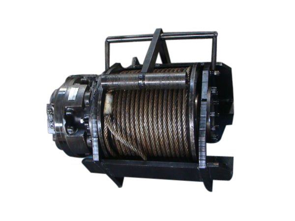 6 tons of hydraulic winch